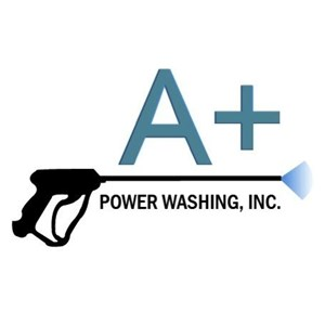 A Plus Power Washing Inc Logo