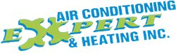 Expert Air Conditioning & Heating Logo