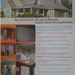 Goshen Home Painting Llc. Cover Photo