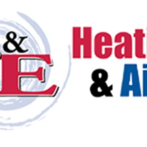 S & E Heating & Air Logo