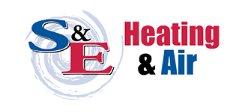 S & E Heating & Air Logo