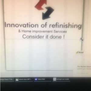 Innovation of Refinishing And Home Improvement Services Cover Photo