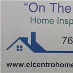 """on The Mark"" Home Inspecions Logo"