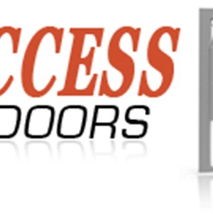 All Access Garage Doors Logo