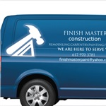 Finish Master Construction Logo