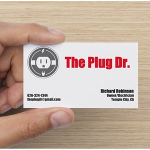 The Plug Dr Electrical Services Logo