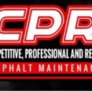 CPR Asphalt Maintenance Logo