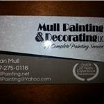 Mull Painting & Decorating LLC Logo