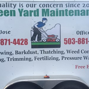 Green Yard Maintenance Logo