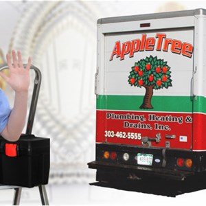 Appletree Plumbing, Heating & Drains, Inc. Logo