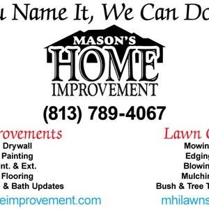 Masons Home Improvement Inc. Cover Photo