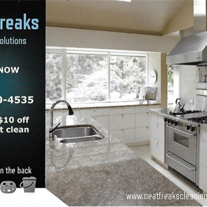 Neat Freaks Cleaning Solutions Logo