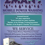 Zmans Mobile Powerwashing Logo