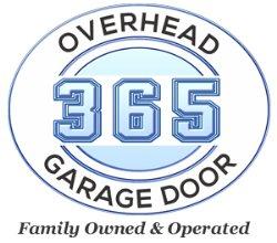 365 Overhead Garage Door & Gate Logo
