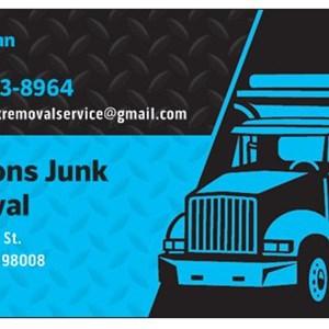 Jacksons Junk Removal Logo