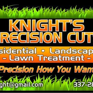 Knights Precision Cuts Logo