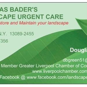 Douglas Baders Landscape Urgent Care Logo