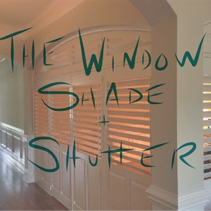 The Window Shade and Shutter Logo