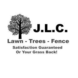 JLC Lawn, Trees, & Fencing Logo