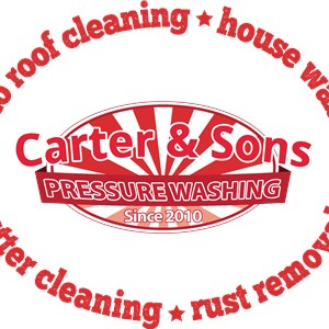 Carter & Sons Pressure Washing Logo