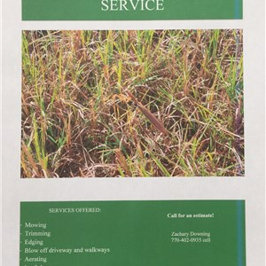 DOWNINGS LAWN CUTTING SERVICE Cover Photo