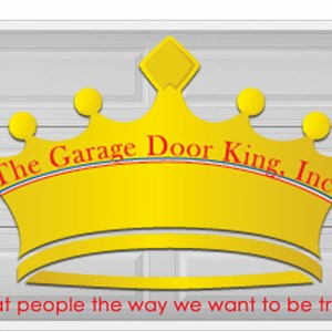 A Garage Door King INC Logo