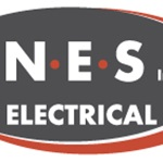 N.e.s Electric Logo
