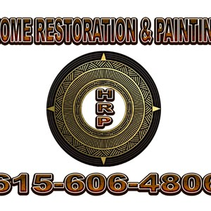 Home Restoration & Painting Logo