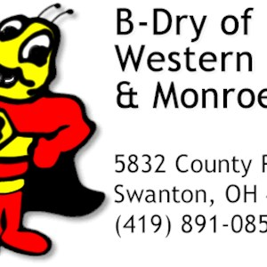 B-dry System of Western Ohio & Monroe Michigan Logo