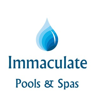 Immaculate Pools & Spas Logo
