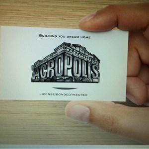 Ams Acropolis Construcion Logo