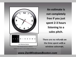 Zen Windows Boston LLC Logo