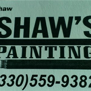 Shaws Painting Interior -exterior Logo