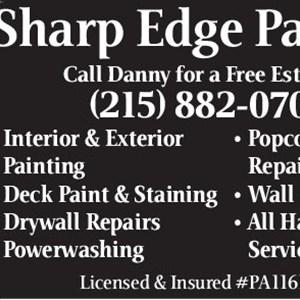 Sharp Edge Painting Logo