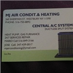 Mj Heating AND AIR Conditioning Cover Photo