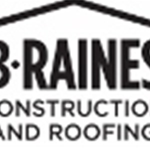 B.raines Construction & Roofing Logo