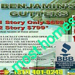 Benjamin Carrillo Gutters Logo