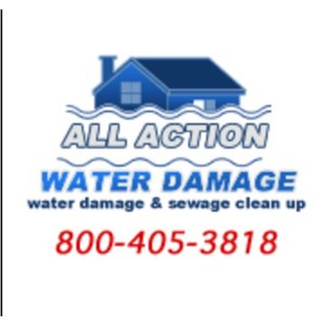 All Action Water Damage Logo