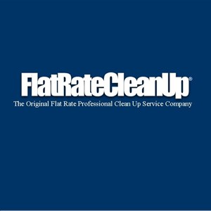 Flat Rate Cleanup Logo