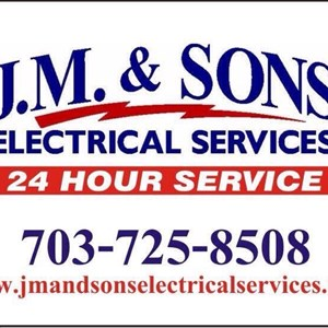 J.m.& Sons Electrical Services Logo