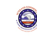 Veterans Commercial & Floor Maintenance Service Logo