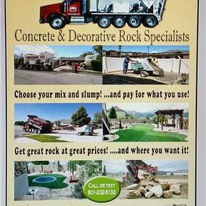 Precision Rock Concrete & Landscape Supply Logo
