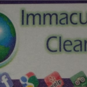 Immaculate Cleaning Cover Photo