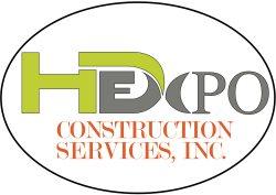 HD EXPO construction services, inc. Logo