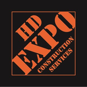 HD EXPO construction services, inc. Logo
