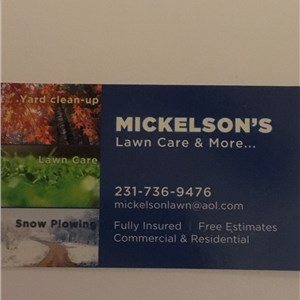 Mickelsons Lawn Care & More Cover Photo
