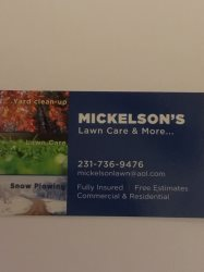 Mickelsons Lawn Care & More Logo