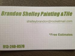 Brandon Shelley Painting & Tile Logo