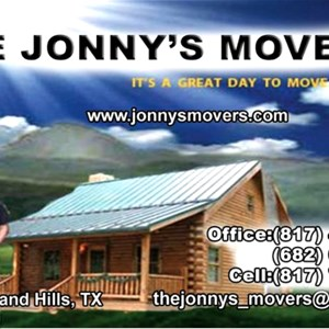 The Jonnys Movers Logo