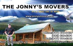 The Jonnys Movers Logo